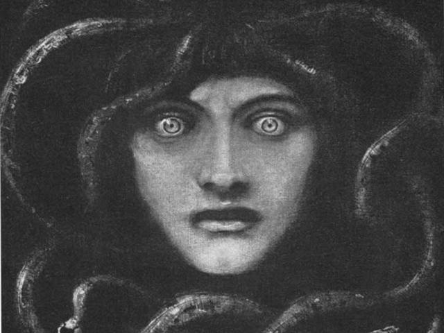 Franz von Stuck -- Medusa