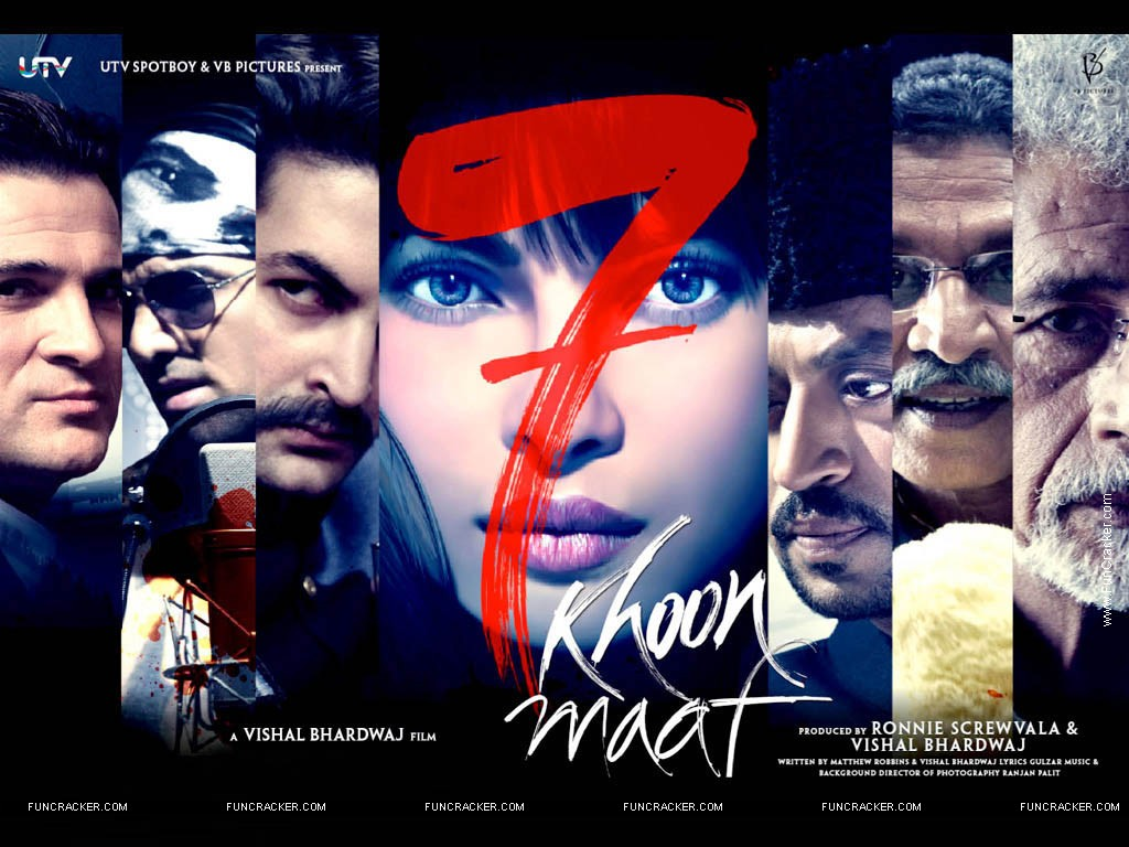 7 Khoon Maaf | The Seventh Art