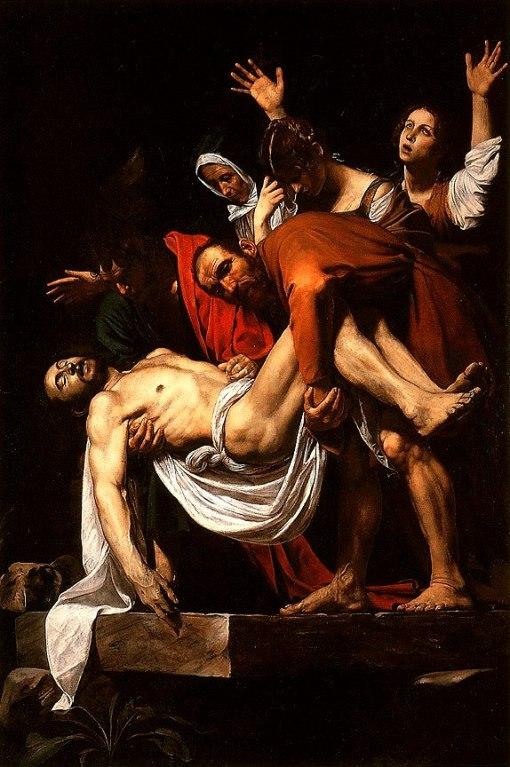 La Deposizione di Cristo - Caravaggio