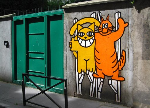 Chris Marker avec Monsieur Chat