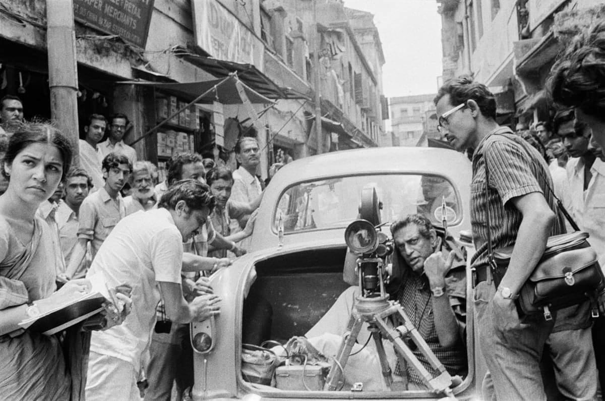 Satyajit Ray by Nemai Ghosh